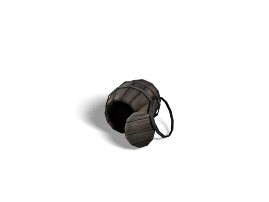 Barrel Collection royalty-free 3d model - Preview no. 12