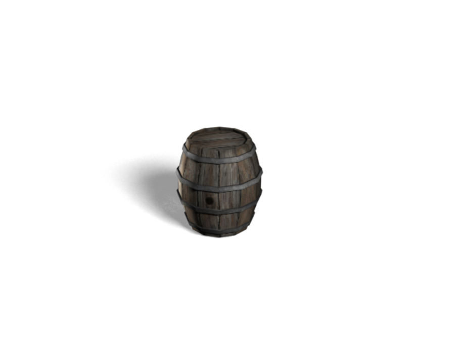 Barrel Collection royalty-free 3d model - Preview no. 4