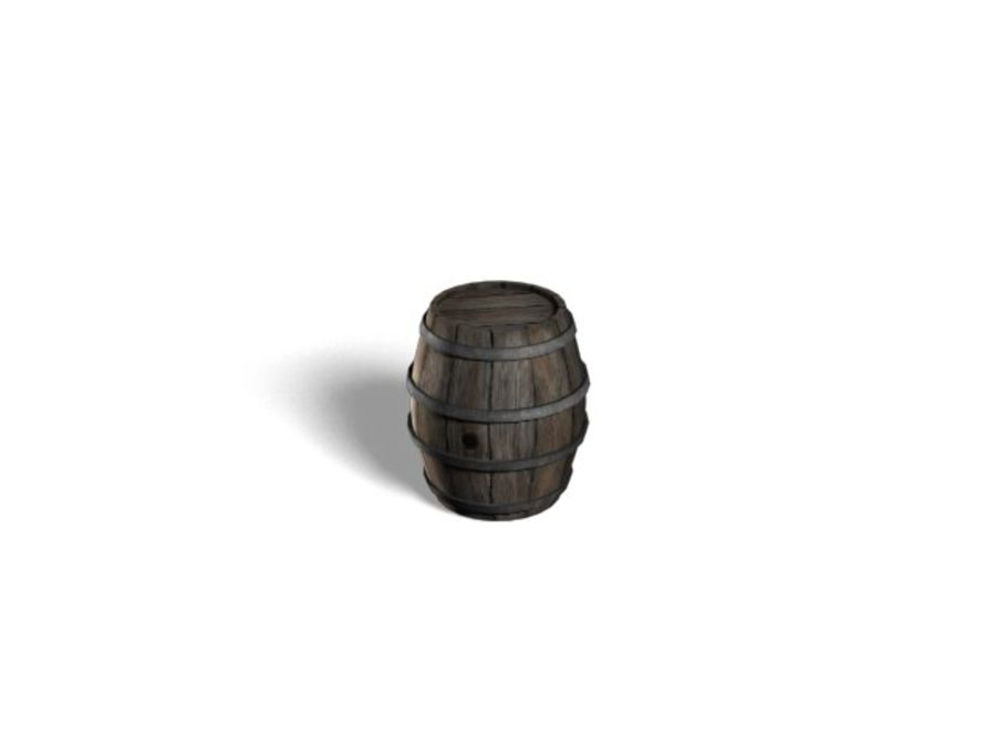 Barrel Collection royalty-free 3d model - Preview no. 2