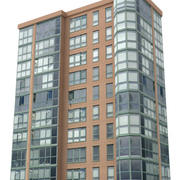 Low poly high rise building 6 3d model