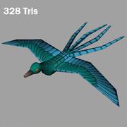 птица 3d model