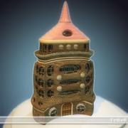 8 mini castle_C 3d model