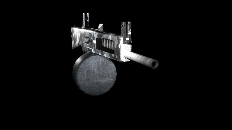 AA12 Shotgun royalty-free 3d model - Preview no. 4