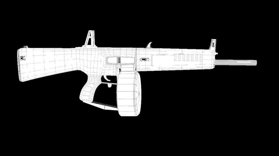 AA12 Shotgun royalty-free 3d model - Preview no. 10