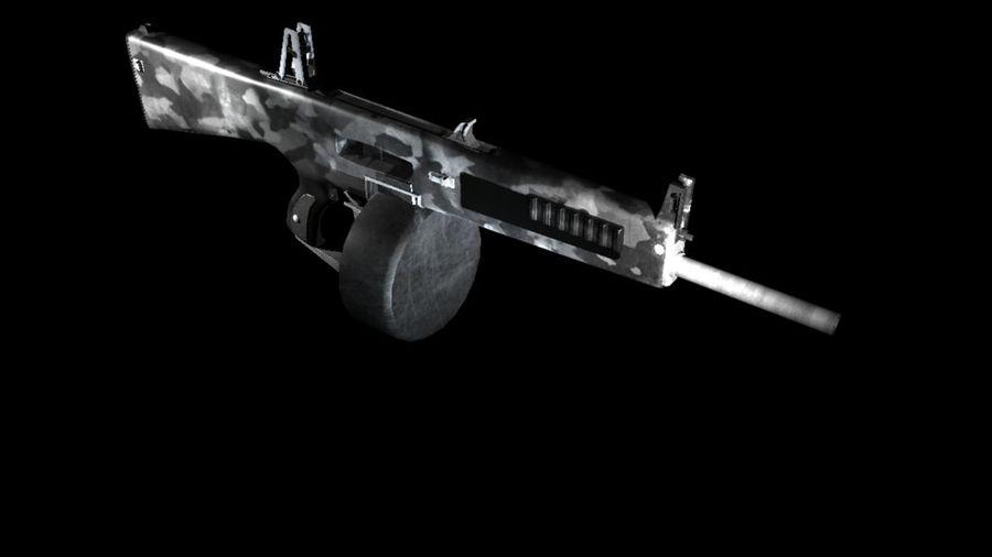 AA12 Shotgun royalty-free 3d model - Preview no. 2
