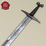 Medieval Sword 3d model