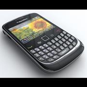 BlackBerry Curve 3G 9300 3d model
