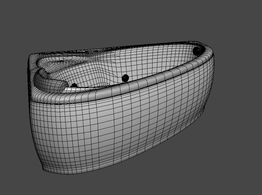 Łaźnia 3D Logika royalty-free 3d model - Preview no. 3
