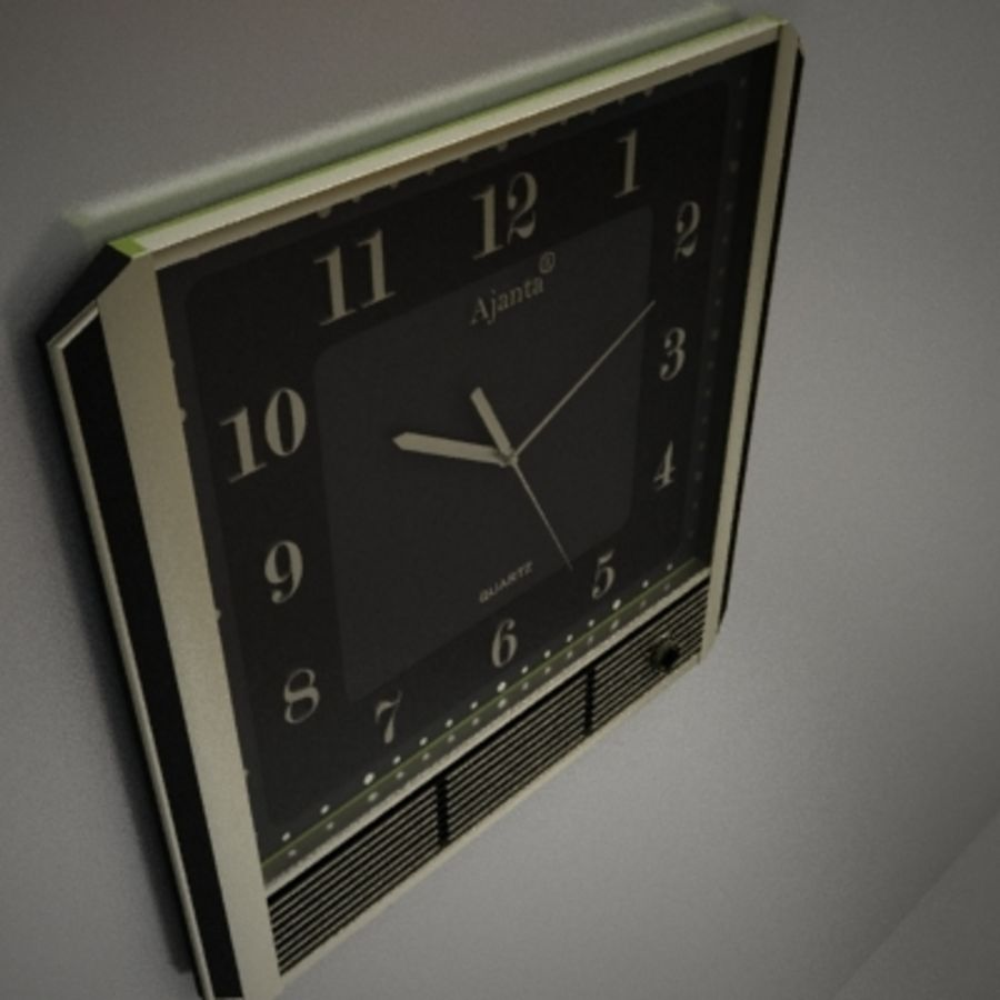 clock royalty-free 3d model - Preview no. 3