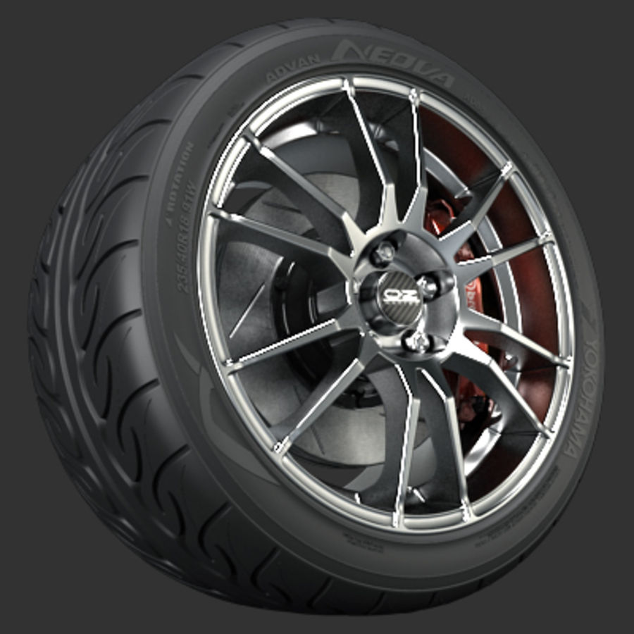 OZ Ultraleggera-Rad royalty-free 3d model - Preview no. 1