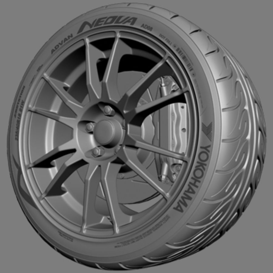 OZ Ultraleggera-Rad royalty-free 3d model - Preview no. 3