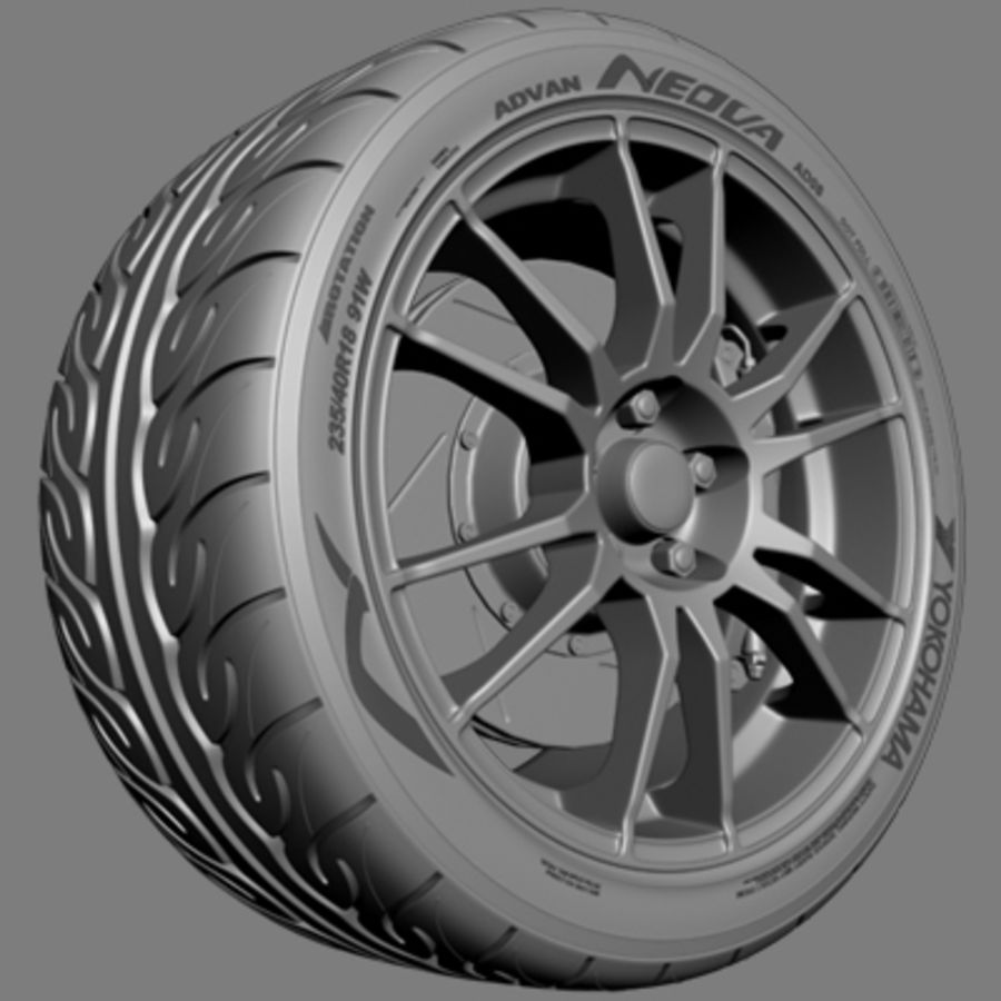 OZ Ultraleggera-Rad royalty-free 3d model - Preview no. 4