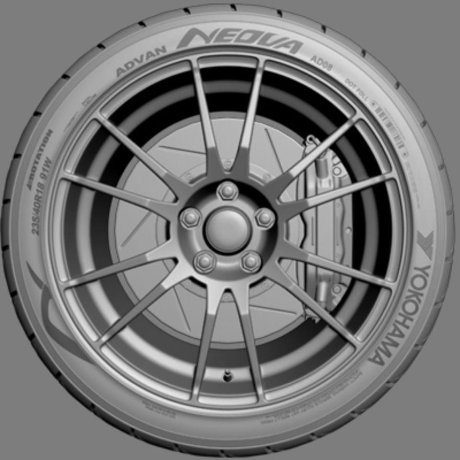 OZ Ultraleggera-Rad royalty-free 3d model - Preview no. 2