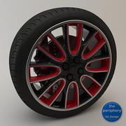Rueda deportiva 02 modelo 3d