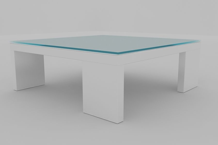 Coffee table AMBER royalty-free 3d model - Preview no. 1