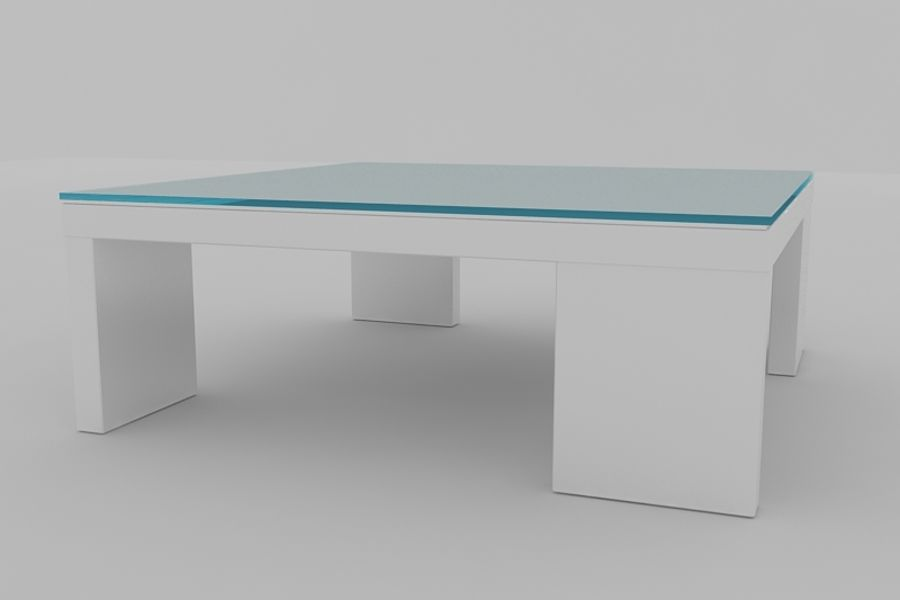 Coffee table AMBER royalty-free 3d model - Preview no. 2