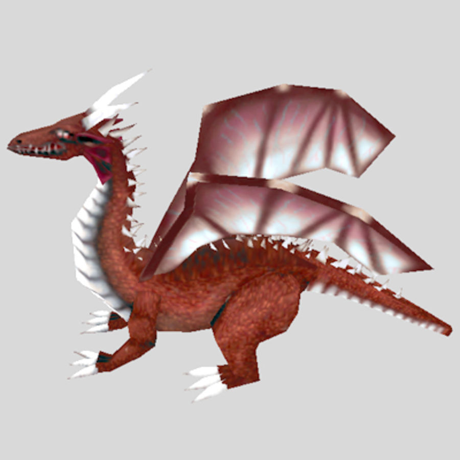 Fantasy Dragon Unit royalty-free 3d model - Preview no. 1