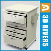3DRivers의 Dental Mobile Cabinet 2 3d model