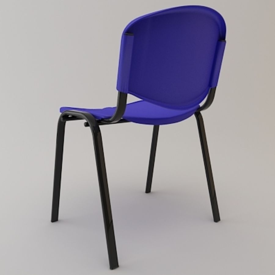 Reception Chair royalty-free 3d model - Preview no. 2