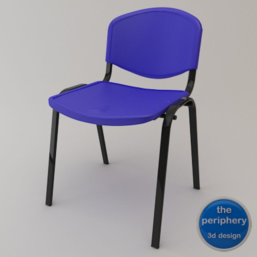 Reception Chair royalty-free 3d model - Preview no. 1