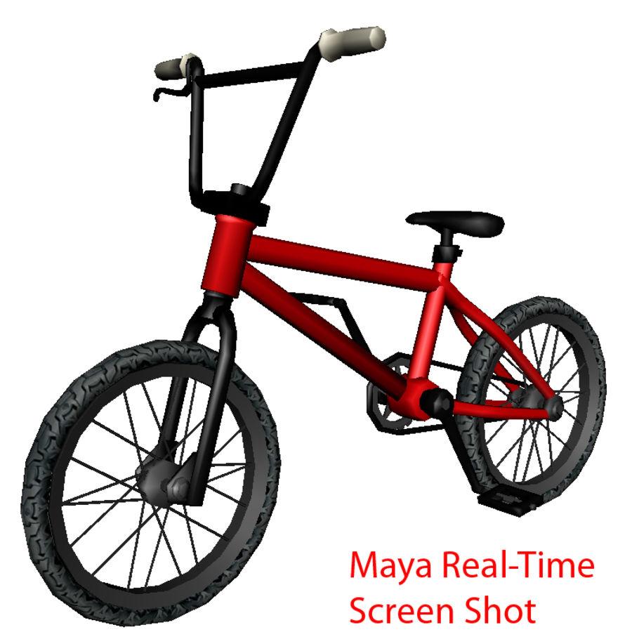 自転車 royalty-free 3d model - Preview no. 4