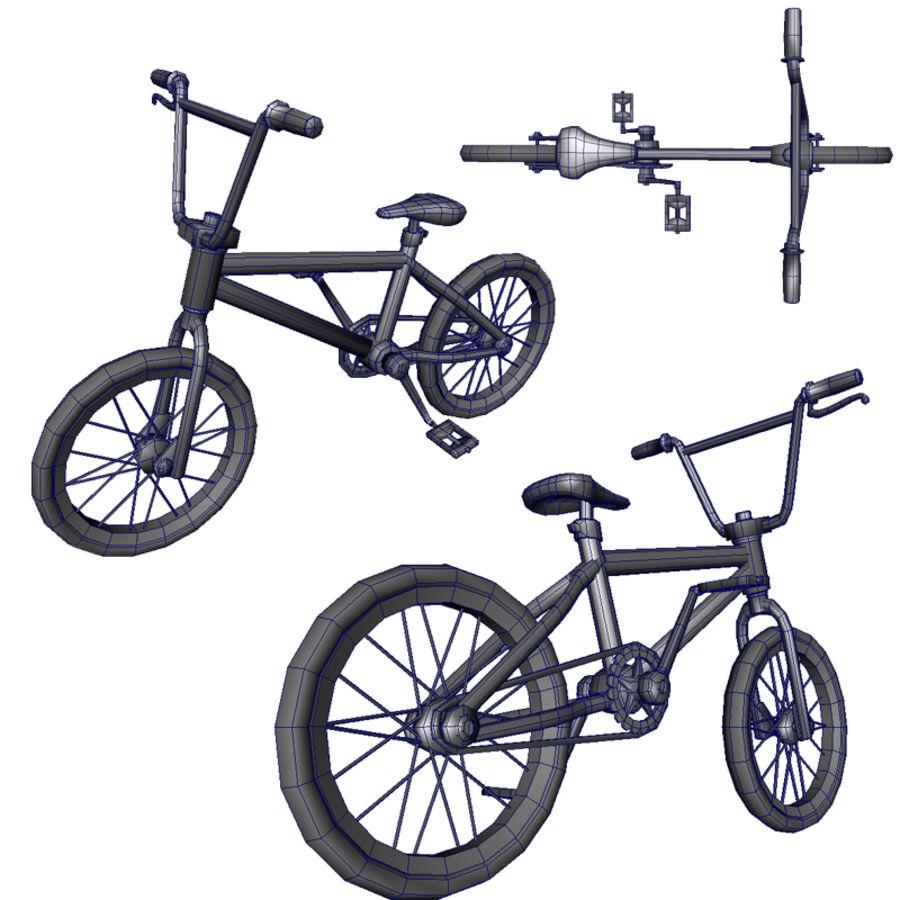 自転車 royalty-free 3d model - Preview no. 6