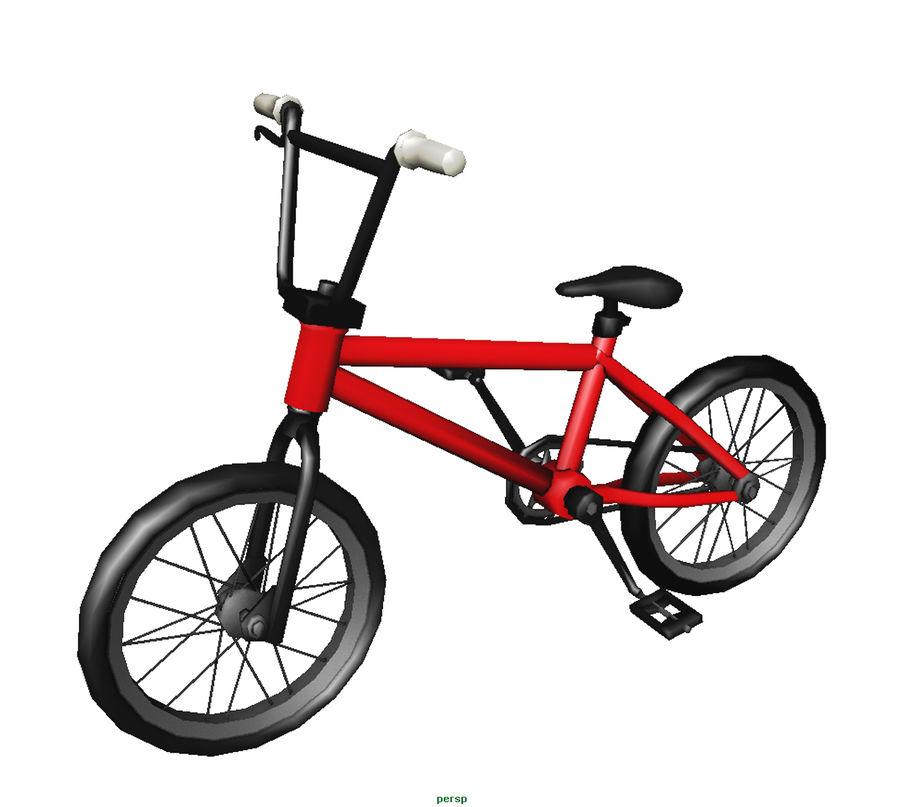自転車 royalty-free 3d model - Preview no. 3