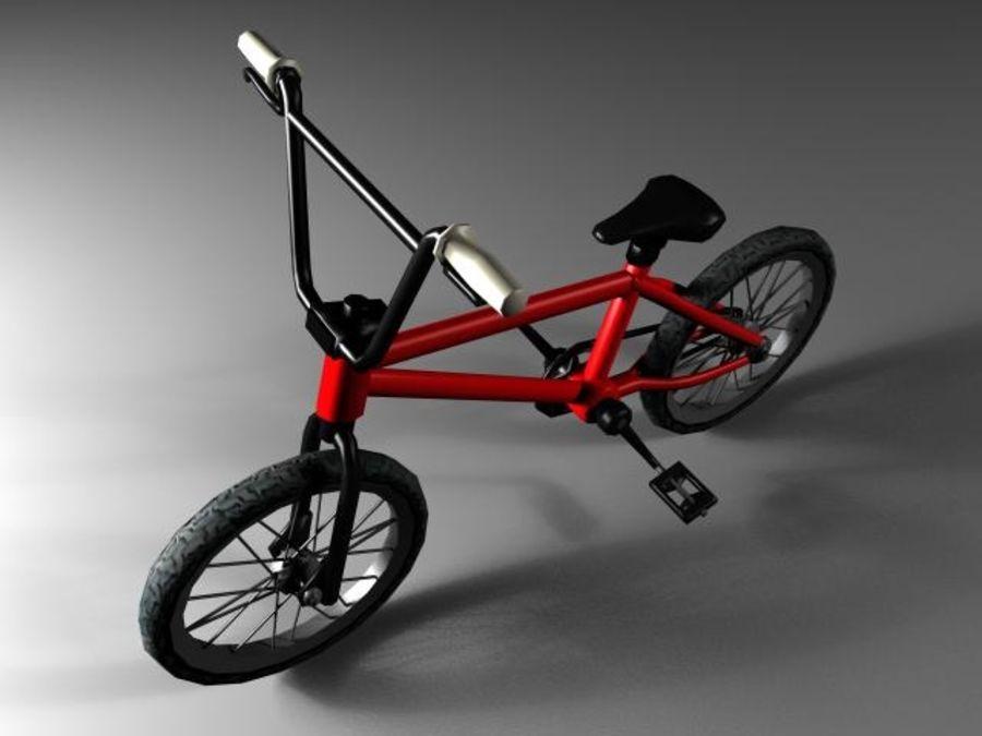 自転車 royalty-free 3d model - Preview no. 2