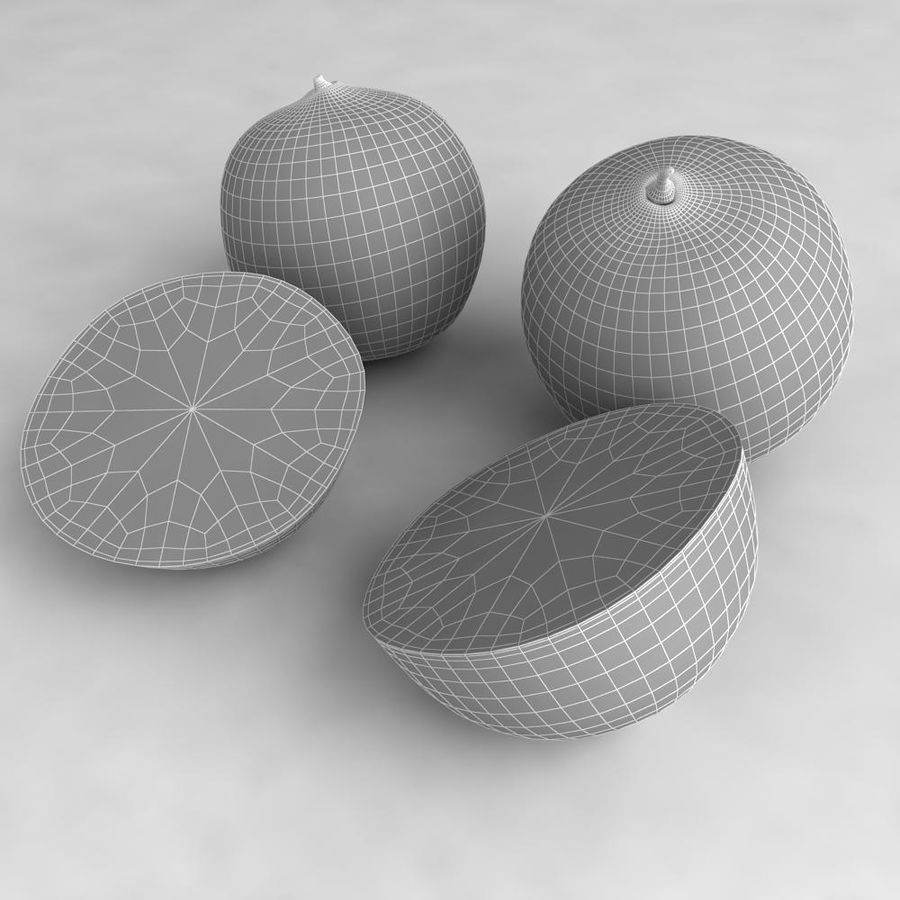 Oranges royalty-free 3d model - Preview no. 8