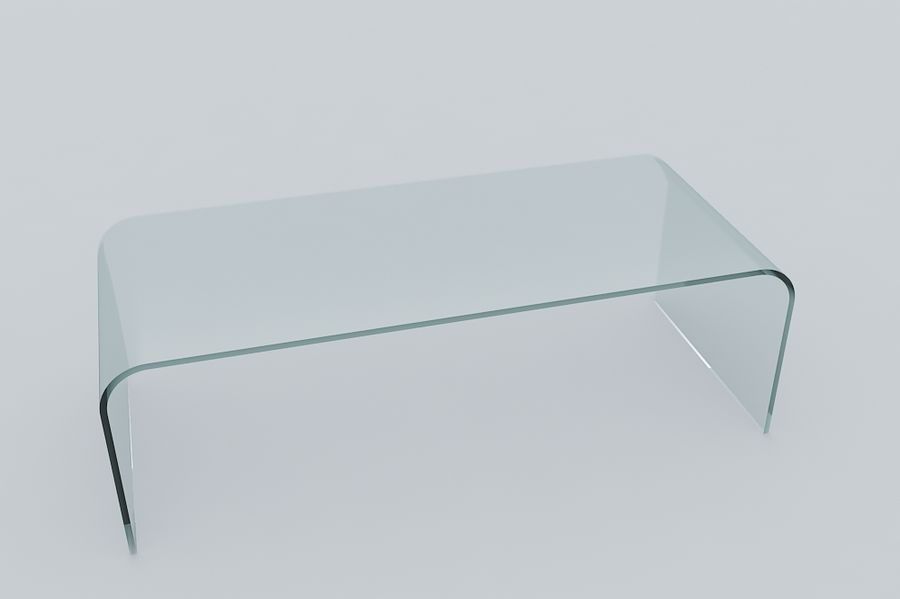 Viva Modern Arch Coffee Table Royalty Free 3d Model   Preview No. 2