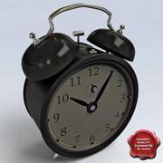 Horloge rétro 3d model