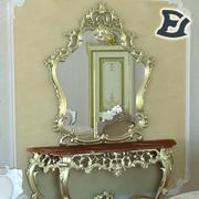 Tafel met spiegel 3d model