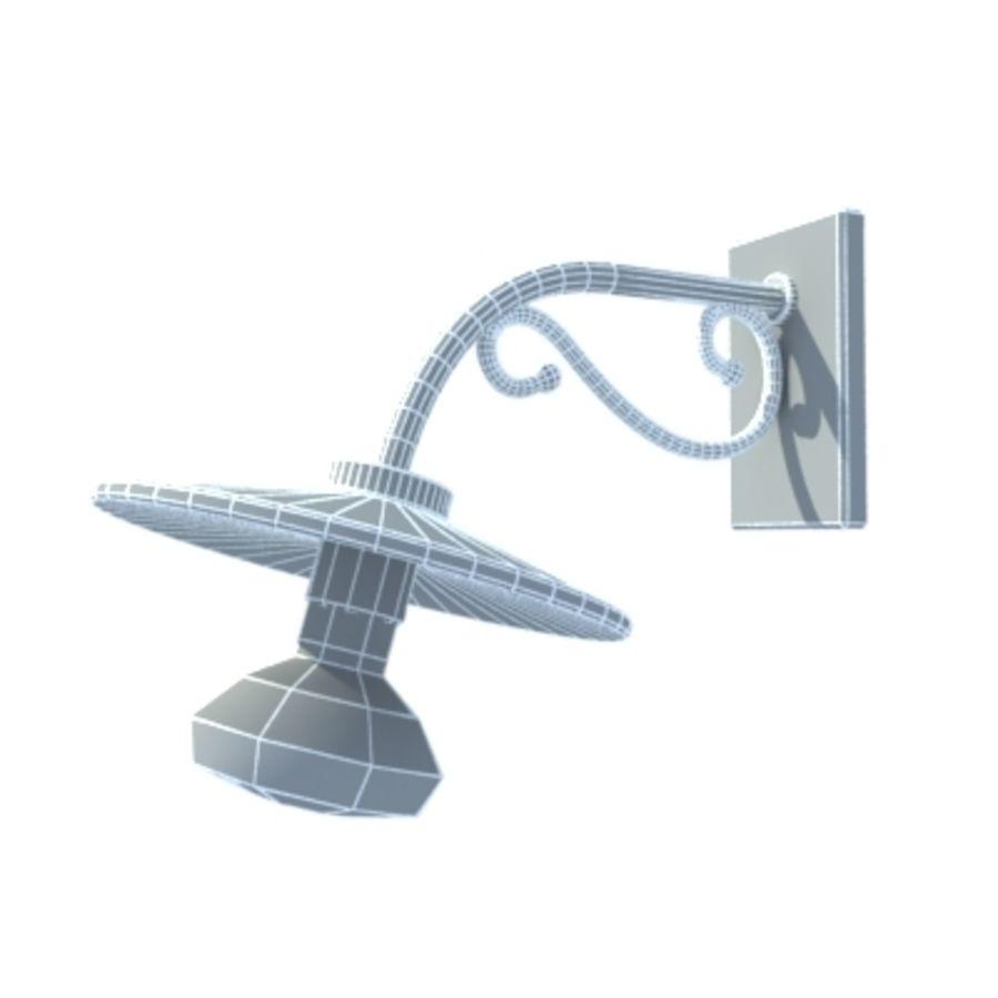 Bombilla de luz colgante royalty-free modelo 3d - Preview no. 7