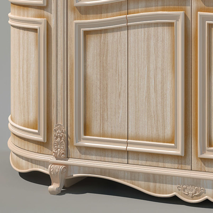 Wardrobe Cabinet royalty-free 3d model - Preview no. 3