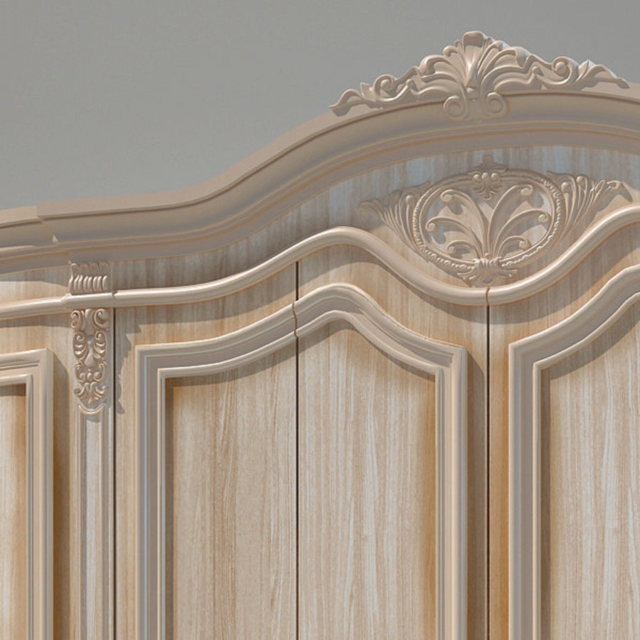 Wardrobe Cabinet royalty-free 3d model - Preview no. 2
