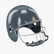 Casque de football américain 3d model
