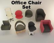 의자 세트 3d model