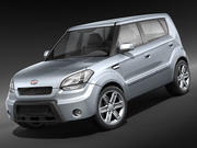 Kia Soul 2009-2012 3d model