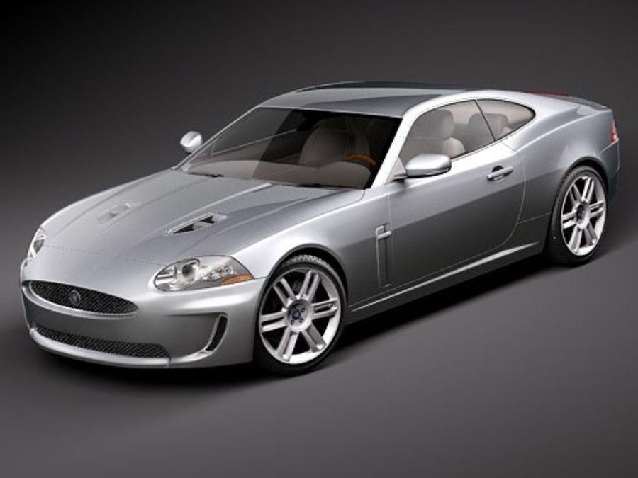 Jaguar XKR 2010-2012 royalty-free 3d model - Preview no. 1