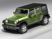 Джип Рэнглер Неограниченный 3d model
