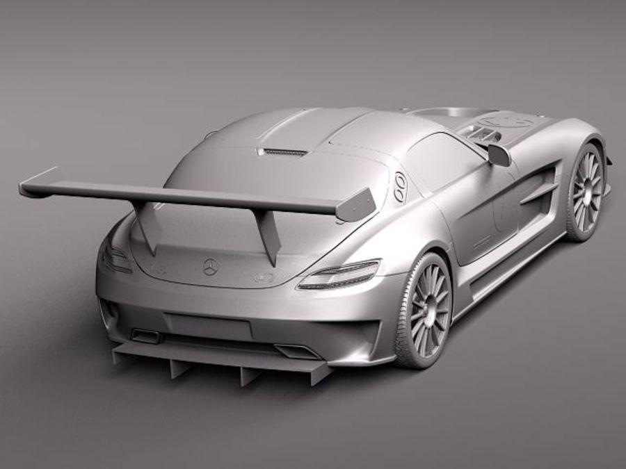 Mercedes-Benz SLS AMG GT 3 royalty-free 3d model - Preview no. 9