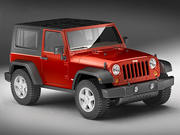 Jeep Wrangler Rubicon 3d model