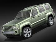 Jeep Patriot - Liberty 3d model