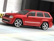 Jeep Grand Cherokee SRT8 3d model
