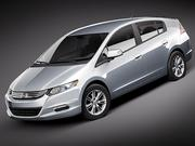 Honda Insight Hybrid 3d model