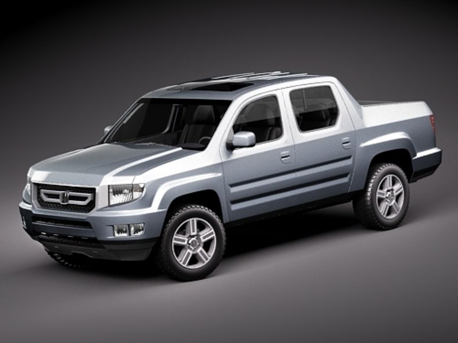 Honda Ridgeline royalty-free 3d model - Preview no. 1