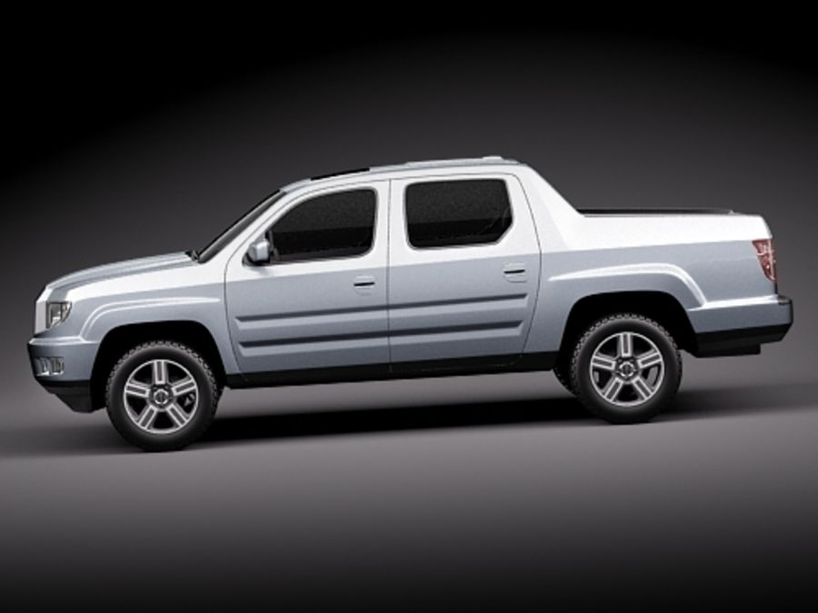 Honda Ridgeline royalty-free 3d model - Preview no. 7