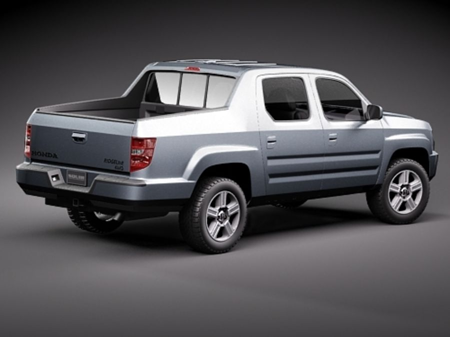 Honda Ridgeline royalty-free 3d model - Preview no. 5