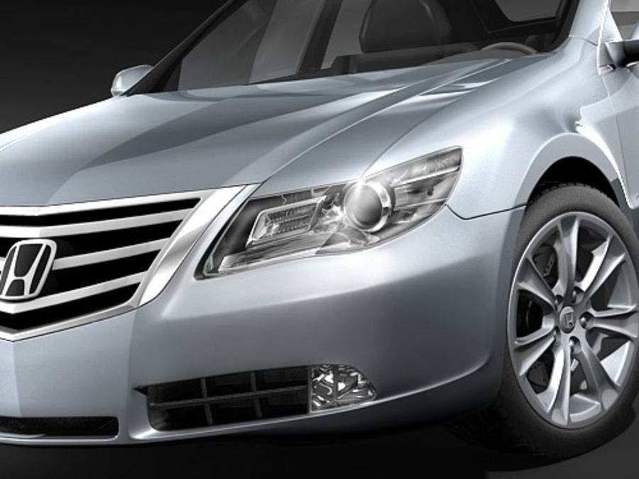 Honda Legend royalty-free 3d model - Preview no. 4