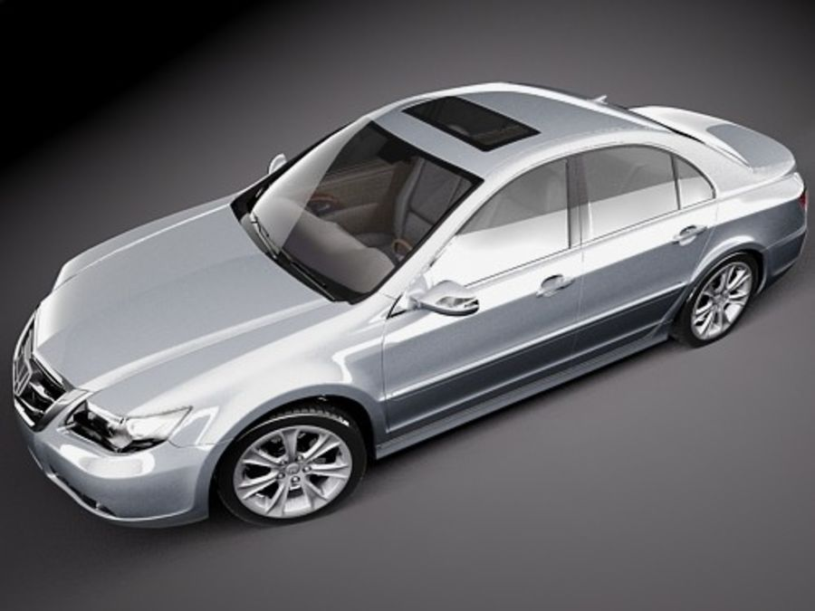 Honda Legend royalty-free 3d model - Preview no. 10